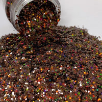 Chunky Holographic Cocoa 2 oz Bottle