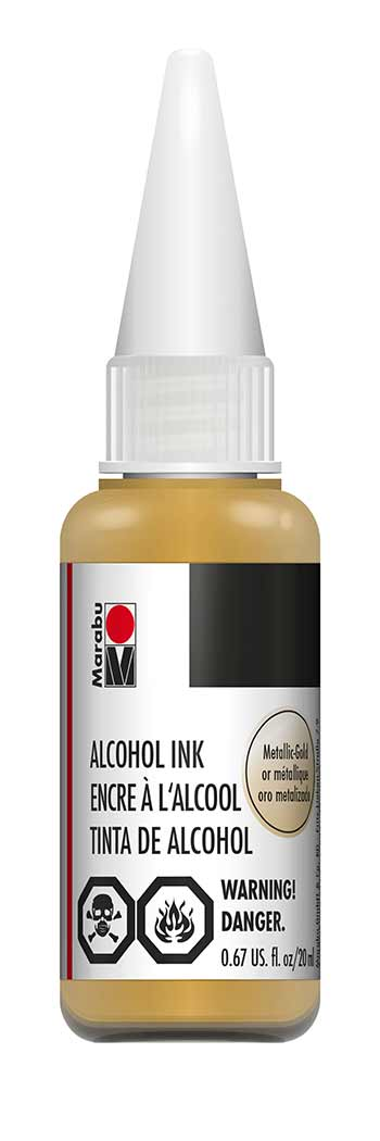 Marabu Alcohol Ink 784 Metallic Gold