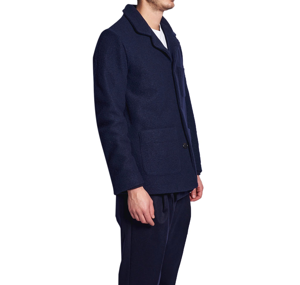 MEN'S SHIRT-JACKET NAVY
