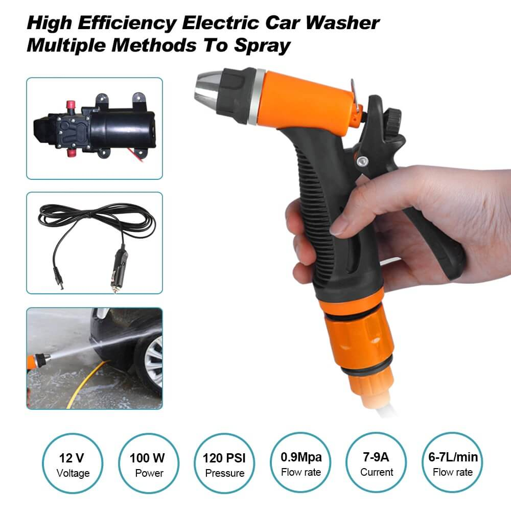 MUS™ High Pressure Self-priming Electric Car Wash