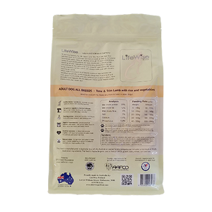 Lifewise - Tone & Trim Lamb with oats, rice and vegetables for dogs