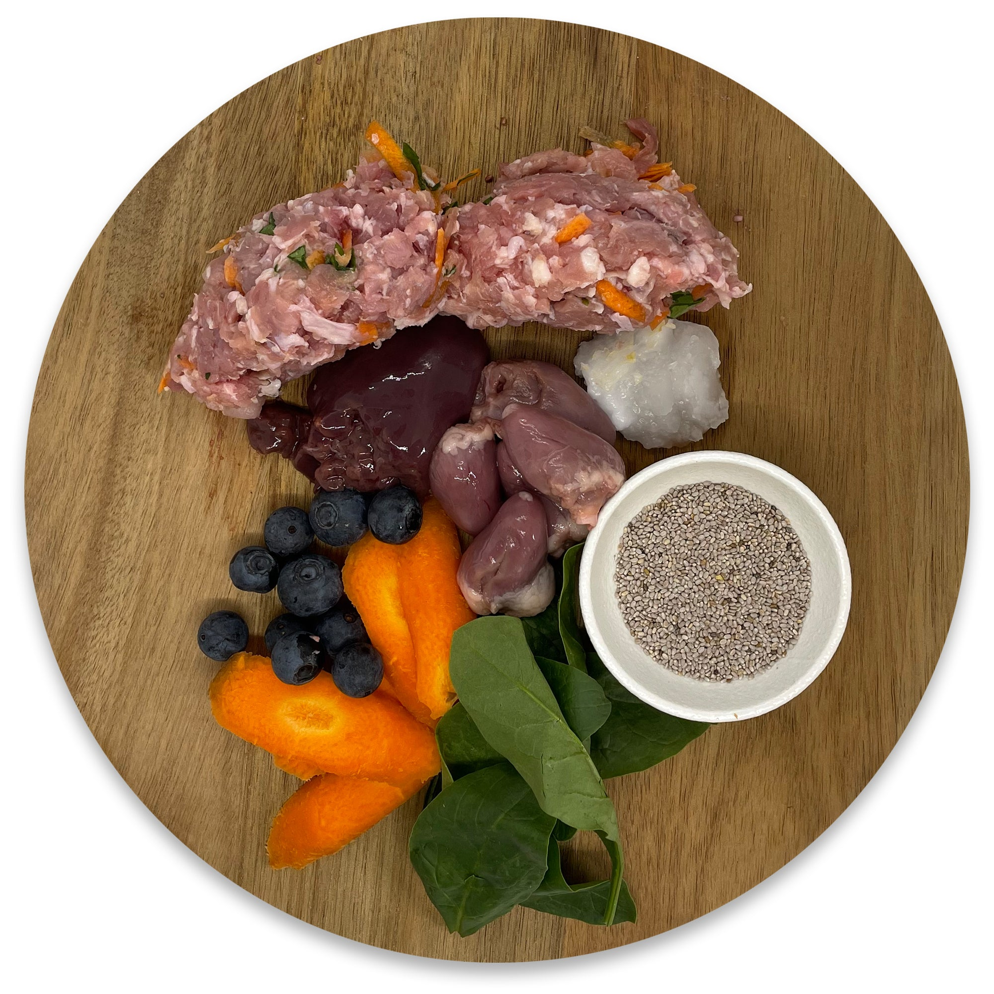 Balanced Raw Food Blend - All Rounder