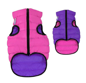 Airy Vest Dog Coat Pink & Purple