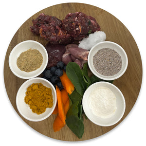 Open image in slideshow, Balanced Raw Food Blend - Mobility