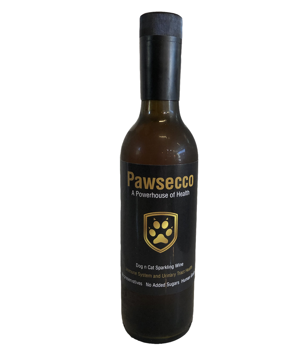 Pawsecco - sparkling dog and cat wine