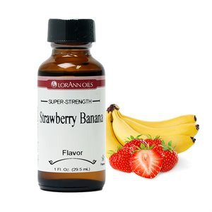 STRAWBERRY/BANANA FLAVOUR