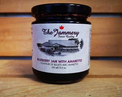 BLUEBERRY JAM W/ AMARETTO 250ml