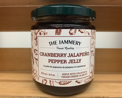 CRANBERRY JALAPENO PEPPER JELLY 250ml