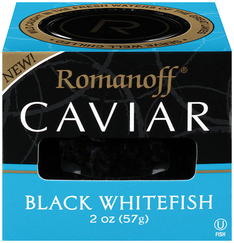 BLACK WHITEFISH CAVIAR