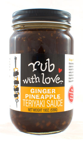 TERRIYAKI, GINGER, PINEAPPLE