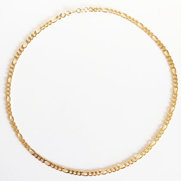 14K Gold-Filled Figaro Chain Necklace