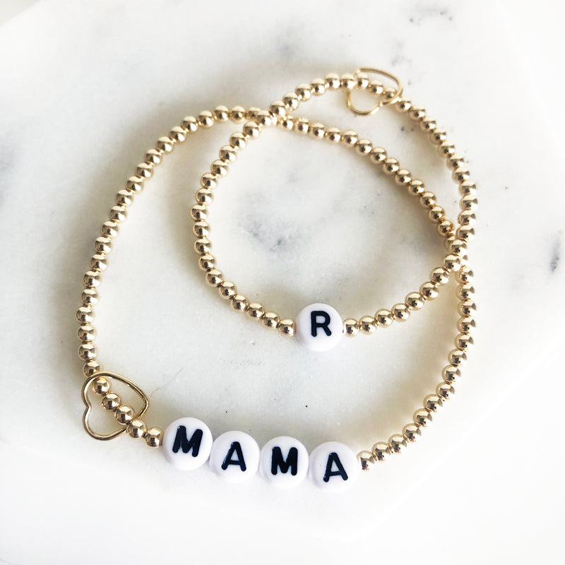 Name Bracelet Set – Mama & Mini