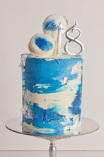 Load image into Gallery viewer, Number cake toppers - silver