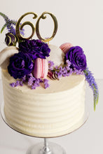 Load image into Gallery viewer, Number cake toppers - gold