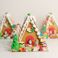 Load image into Gallery viewer, Celebrate Christmas with these gorgeously decorated ginger bread houses. Packed with your favorite traditional Christmas lollies everyone will love these gingerbread houses. birthday cakes Brisbane, cake shops Brisbane, cupcakes Brisbane, cake shop Brisbane, Veruccas Cakes, Verucca Cakes, Verucas Cakes, Veruca Cakes Verrucas Cakes,