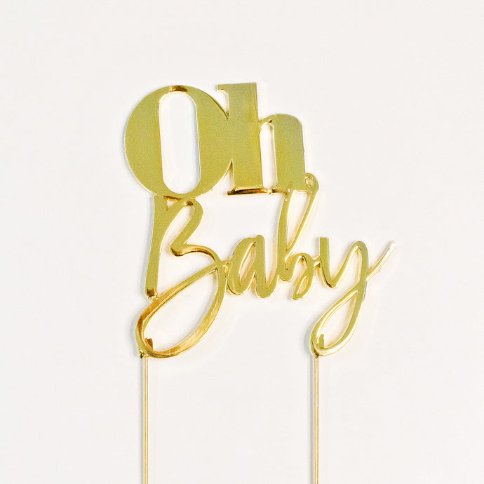 Oh Baby cake topper, Baby shower cake toppers, birthday cakes Brisbane, cakes Brisbane cake shops Brisbane, cupcakes Brisbane, cake shop Brisbane, Cute Cakes & Co, Cute Cakes and Co