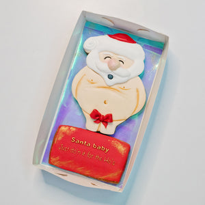 Gift that special person a naughty Santa cookie.  Christmas cookies Brisbane, Christmas cookies,  birthday cakes Brisbane, cakes Brisbane cake shops Brisbane, cupcakes Brisbane, cake shop Brisbane, Veruccas Cakes, Verucca Cakes, Verucas Cakes, Veruca Cakes Verrucas Cakes,