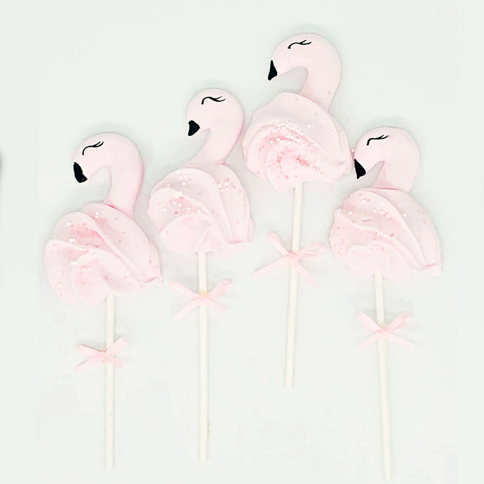 flamingo cake toppers, flamingo meringues pops, flamingo cake decorations. pink flamingos, Brisbane birthday cake decorations Brisbane cake topper pops, cakes home delivered, cakes home-delivered, Brisbane home delivered cakes, Brisbane home delivered macarons, baby shower cake topper, kids birthday party topper, childrens birthday party topper, Cute Cakes & Co, Cute Cakes and Co