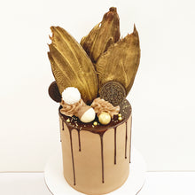 Load image into Gallery viewer, Chocolate buttercream with Chocolate Drip birthday cake. Brisbane cake shop.