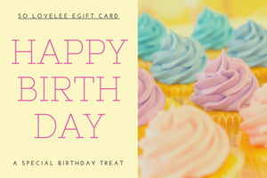 Happy Birthday - Electronic Gift Card