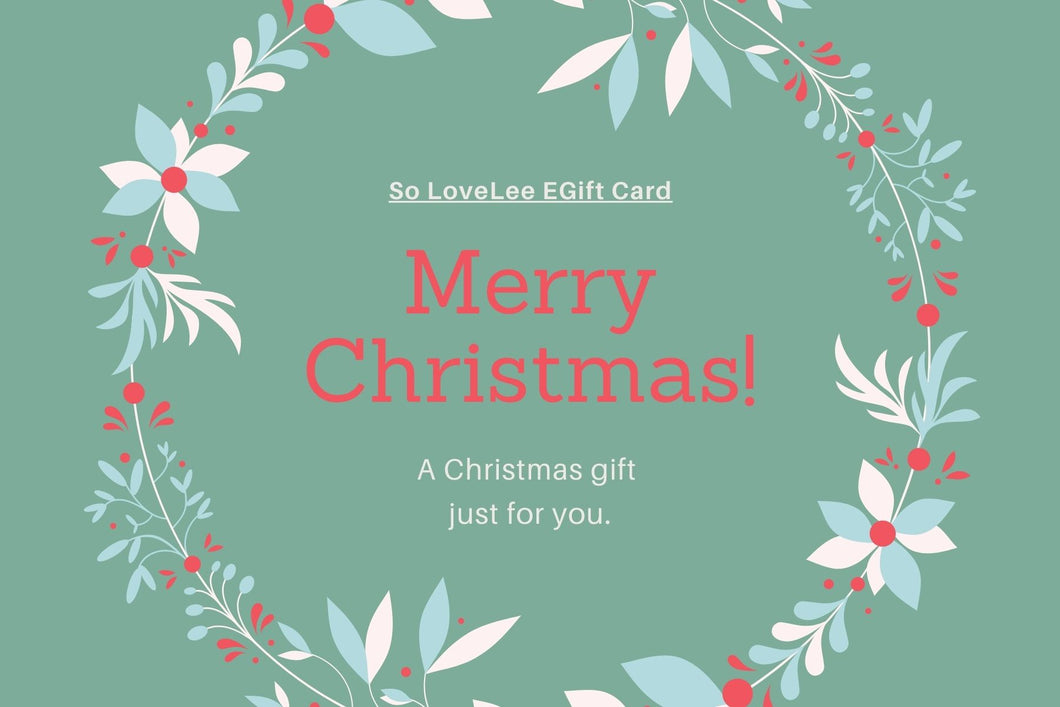 Happy Christmas - Electronic Gift Card