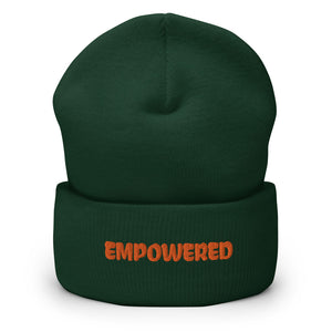 Empowered Cuffed Beanie