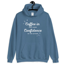 Load image into Gallery viewer, Coffee & Confidence Hoodie