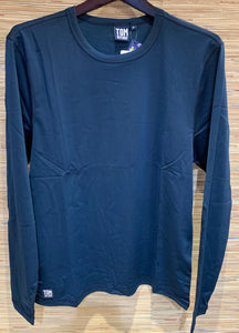 long sleeve sun shirt deep blue