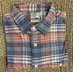 Stretch seaview flannel-autumn plaid