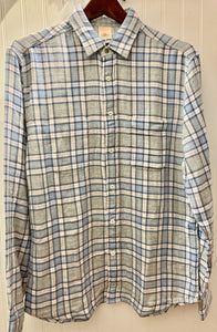 Reversable Belmar cloud cascade plaid