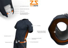 Zusaura Men's Swimwear Brand Concept Visualisation