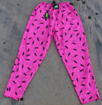 Gecko Hawaii 90s Neon Beach Pants - Pink