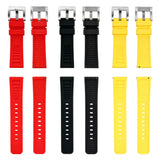 Hawaiian Lifeguard Replacement Strap Yellow/Blk: 22mm Rubber (for 5400 series)