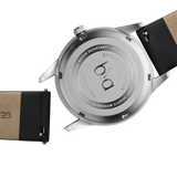 Bia Suffragette Light Gray Leather Strap