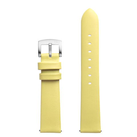 Bia Suffragette Yellow Leather Strap