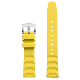 Bia 'Rosie' Dive Yellow Silicone Strap
