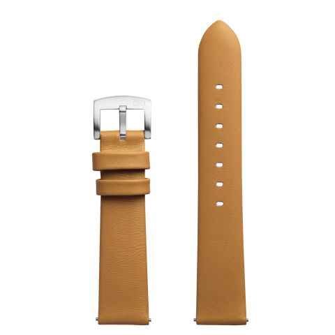Bia Suffragette Tan Leather Strap