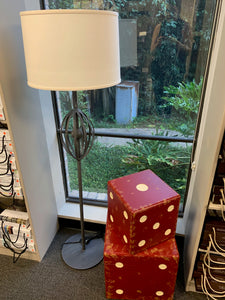 Floor Lamp w/ Linen Shade