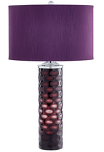 Load image into Gallery viewer, Vivid Purple Table Lamp