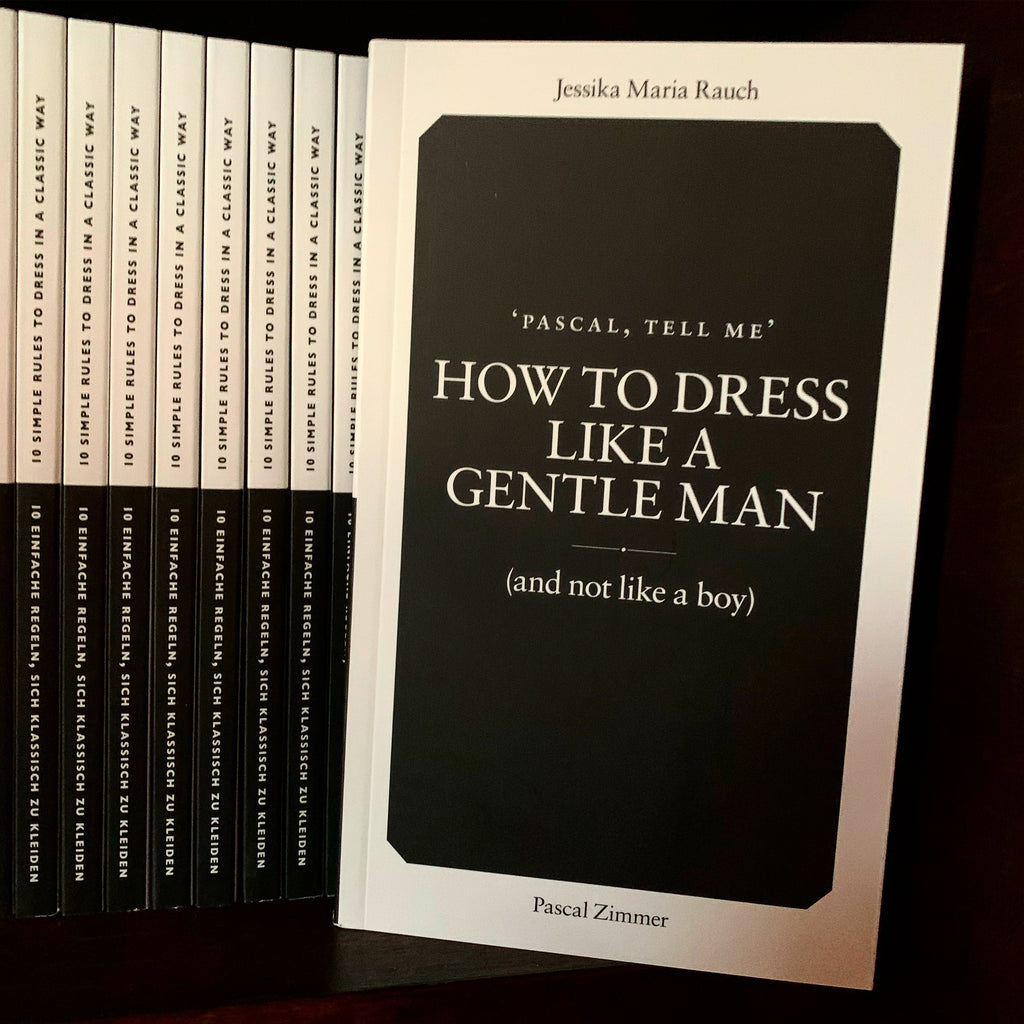 How to dress like a gentle man (and not like a boy)