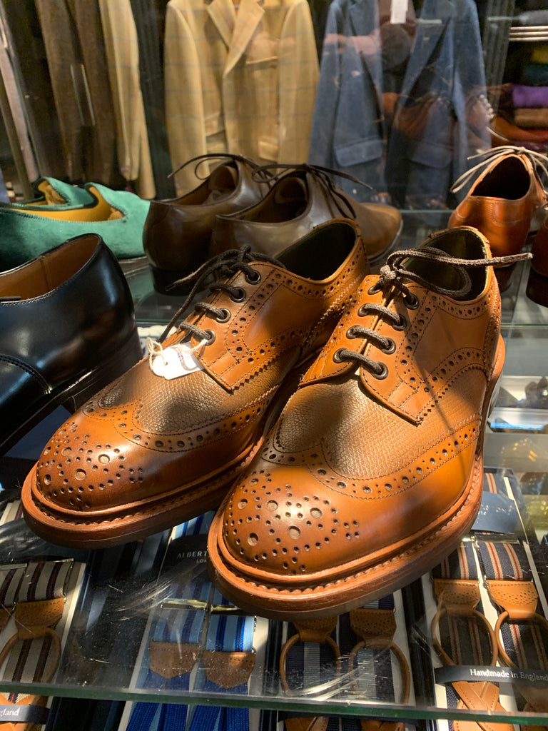 Tricker' s shoes by Basics & Bespoke