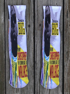 The Notorious B.I.G Dream Big Socks