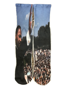 MLK I Have A Dream Socks