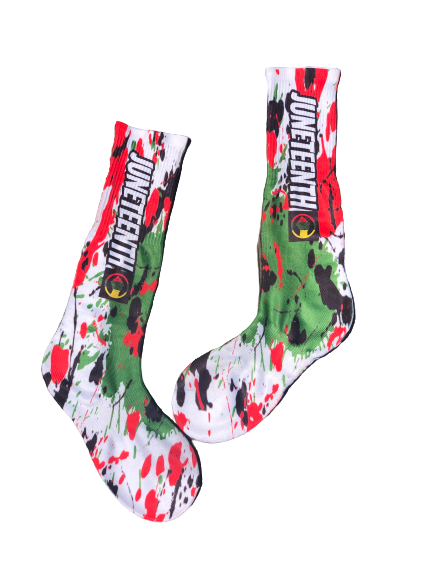 Juneteenth Holiday Socks