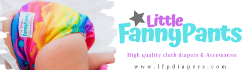 Little Fanny Pants, LFP Diapers website main page