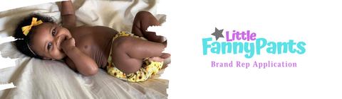 Little Fanny Pants Diapers, LFP Diapers Brand Rep Application