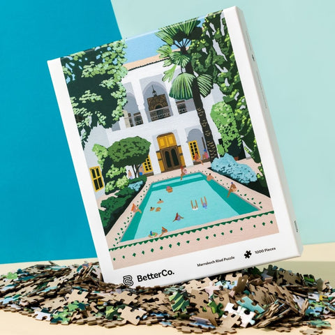 Marrakech Riad Puzzle by BetterCo.