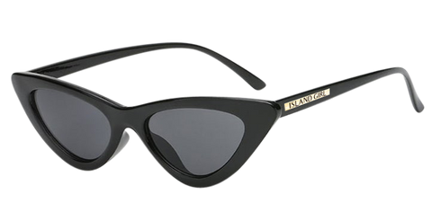 Marilyn Black Cat Eye Sunglasses. Marilyn Monroe inspired black cat-eye shaped sunglasses.