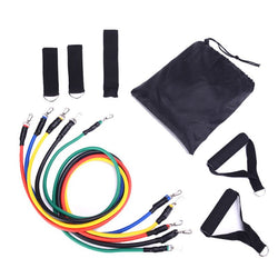 Value Accessory Cross fit 11-Piece Set Resistance Workout Latex Band