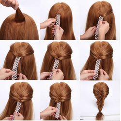Simple Braided Weaving Magic Twist Braid
